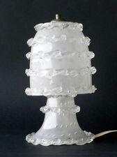 BAROVIER art deco table lamp bollicine venetian murano glass 30s seguso venini