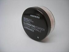 Korres Natural Products Mineral Illuminating Powder, Wild Rose 0.29Oz