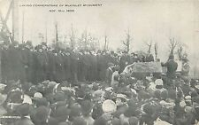 Laying The Cornerstone Of The McKinley Monument, Canton, OH Ohio, Nov 16, 1905