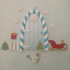 Christmas fairy elf door, frozen 2?  Elf props, put on the shelf