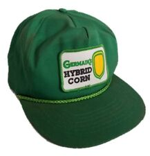 Germain's Hybrid Corn Seed Otto Cap Farm Hat Green Big Patch Agriculture