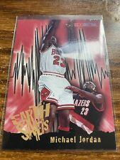 MICHAEL JORDAN 1995-96 NBA Hoops Earth Shakers Subset #358 Chicago Bulls NMMT
