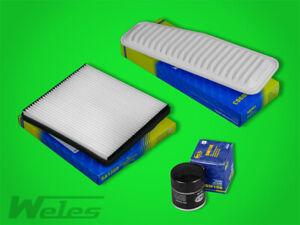 INSPEKTIONSPAKET TOYOTA RAV 4 II A2 2,0 4WD Luftfilter Pollenfilter Ölfilter