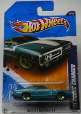 MOPAR Hot Wheels '71 Dodge Charger Teal - Muscle Mania '11
