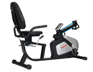 FREE POSTAGE Endurance Recumbent Exercise Bike With Upper Body Workout
