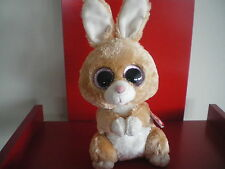 Ty Beanie Boos Carrots Brown Bunny Plush. Delivery is
