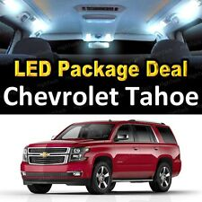 For 2000 - 2006 Chevrolet Tahoe LED Lights Interior Package Kit WHITE 13PCS