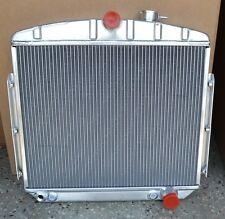 "55-57 Chevy Radiator Aluminum Direct Fit Large 1-1/8"" tubes A MUST READ!"