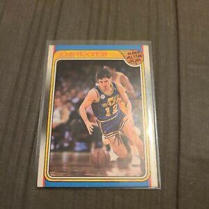 1988-89 Fleer John Stockton Rookie Yr All Star Team #127