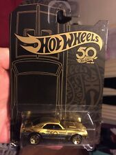 Hot Wheels '67 CAMARO 50TH  Gold Chase