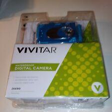 NEW Vivitar Turquiose Waterproof Digital Camera / Video New In Package