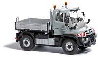 Busch 50917 H0, Unimog U430, silber, Einsatzfahrzeug, Neu