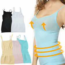 Womens Slimming Tummy Control Vest Cami Body Shaper ShapeWear Post Maternity Top