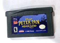 *DISNEY'S PETER PAN: RETURN TO NEVER LAND NINTENDO GAMEBOY ADVANCE GBA Tested!