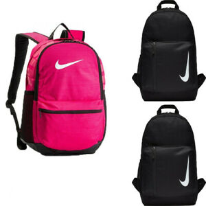 Nike Backpack Rucksack School Bag Academy Travel Backpacks Gym Sports Bags Black