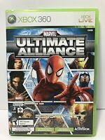 Marvel: Ultimate Alliance & Forza Motorsport 2 Xbox 360 Sealed No Wrap Cracked