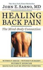 NEW Healing Back Pain: The Mind-Body Connection by John E. Sarno