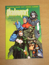 Shadowpact Pentáculo parcela DC Comics Willingham Gráfico novela 9781401212308