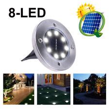 Solar LED Outdoor Path Light Spot Lamp Yard Garden Lawn Landscape Waterproof