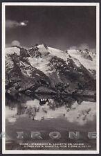 VALLE D'AOSTA COGNE 81 LAGO LAUSON - STAMBECCHI Cartolina FOTOGRAFICA 1942
