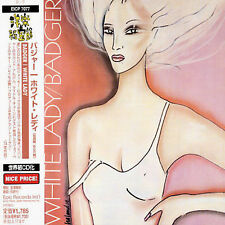 1 CENT CD White Lady - Badger SEALED/JAPAN IMPORT/OBI/PROMO/PROG-ROCK
