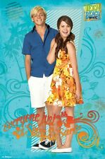TEEN BEACH MOVIE POSTER ~ COUPLE 22x34 Disney Maia Mitchell Ross Lynch