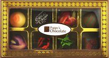 POPPYS CHOCOLATE GIFT BOX 8 GOURMET CHOCOLATES AND TRUFFLES