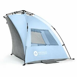 Easthills Outdoors Instant Shader Extended Easy Up Beach Tent Sun Shelter