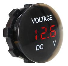 DC 12V-24V LED Panel Digital Voltage Volt Meter Display Voltmeter FOR Motorcycle