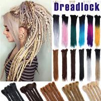 BULK SALE Dreadlock Braids Crochet Braiding Hair Extensions Blonde Brown Dread D