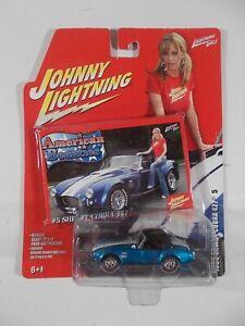 Johnny Lightning 1/64 American Beauties 1965 Shelby Cobra 427