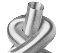 Alu Flexrohr 5m 50mm Zweilagig Flexibles Aluminium Lüftungsrohr Flex Schlauch