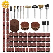 150X Rotary Tool Accessories Kit Grinding Polishing Cutting Sanding fits Dremel