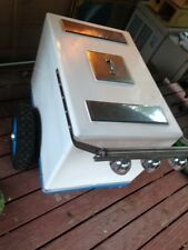 ice cream push cart with bells and freezer cooled inserts