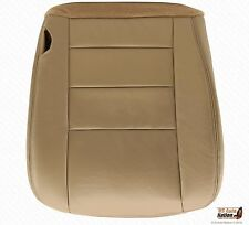 2003 04 05 2007  Ford F250 F350 Lariat Driver Bottom Seat Cover Tan Color Vinyl