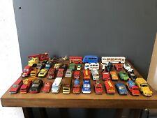Jouet lot de 42 voitures moto véhicules vintage MATCHBOX NOREV MAJORETTE Etc...