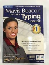 Mavis Beacon Teaches Typing Deluxe 20 Windows/MAC NEW!