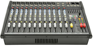CITRONIC CSP-714 POWERED MIXER WITH DSP AND 7-BAND GRAPHIC EQ
