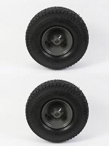 2 Pack Genuine Agri-Fab 42159 Gray Wheel & Tire 15 x 6.00