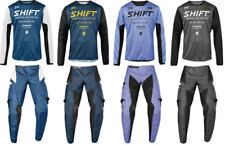 Shift Whit3 Muse Men's Pant & Jersey Riding Gear Combo Atv Mx Dirt Bike