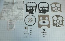 "1981 87 CARB KIT ROCHESTER QUADRAJET 4 BARREL BUICK & CHEVY 307"" ENGINES  NEW"