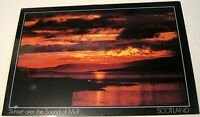 Scotland Sunset over the Sound of Mull PSO-00108-L DRG J Arthur Dixon - posted 1