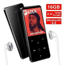 SUPEREYE 16GB MP3 Players, 2.4Inch Large Screen Music Player with Bluetooth 4...