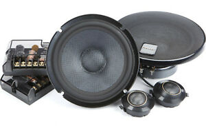 "Pioneer TS-Z65CH 6.5"" 2-Way Component Speakers 330 Watts Aluminum Dome Tweeters"