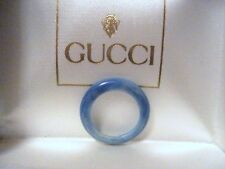 NEW - GUCCI - BLUE MARBLE BEZEL for Bangle Watch 1100L 1200L FREE SHIPPING