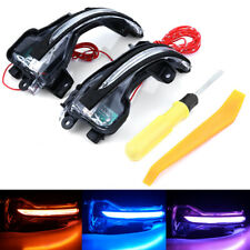Dynamic 3 color LED Mirror Turning Signal Light Rearview For Honda CRV 2012-2019