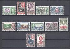 British Honduras 1938-47 SG 150/61 Utilisées Cat £ 100