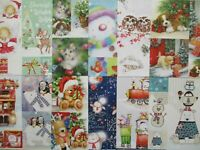 12 x Hunkydory Picture Perfect 8x8 Craft Papers toppers Christmas Cuties