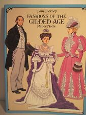Fashions Of The Gilded Age Paper Dolls By Tom Tierney