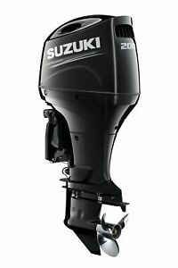NEW SUZUKI DF200APX LONG SHAFT OUTBOARD MOTOR BOAT ENGINE